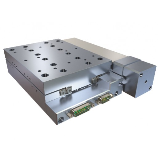 Vacuum prepared Linear stage with ball screw brushless servo drive