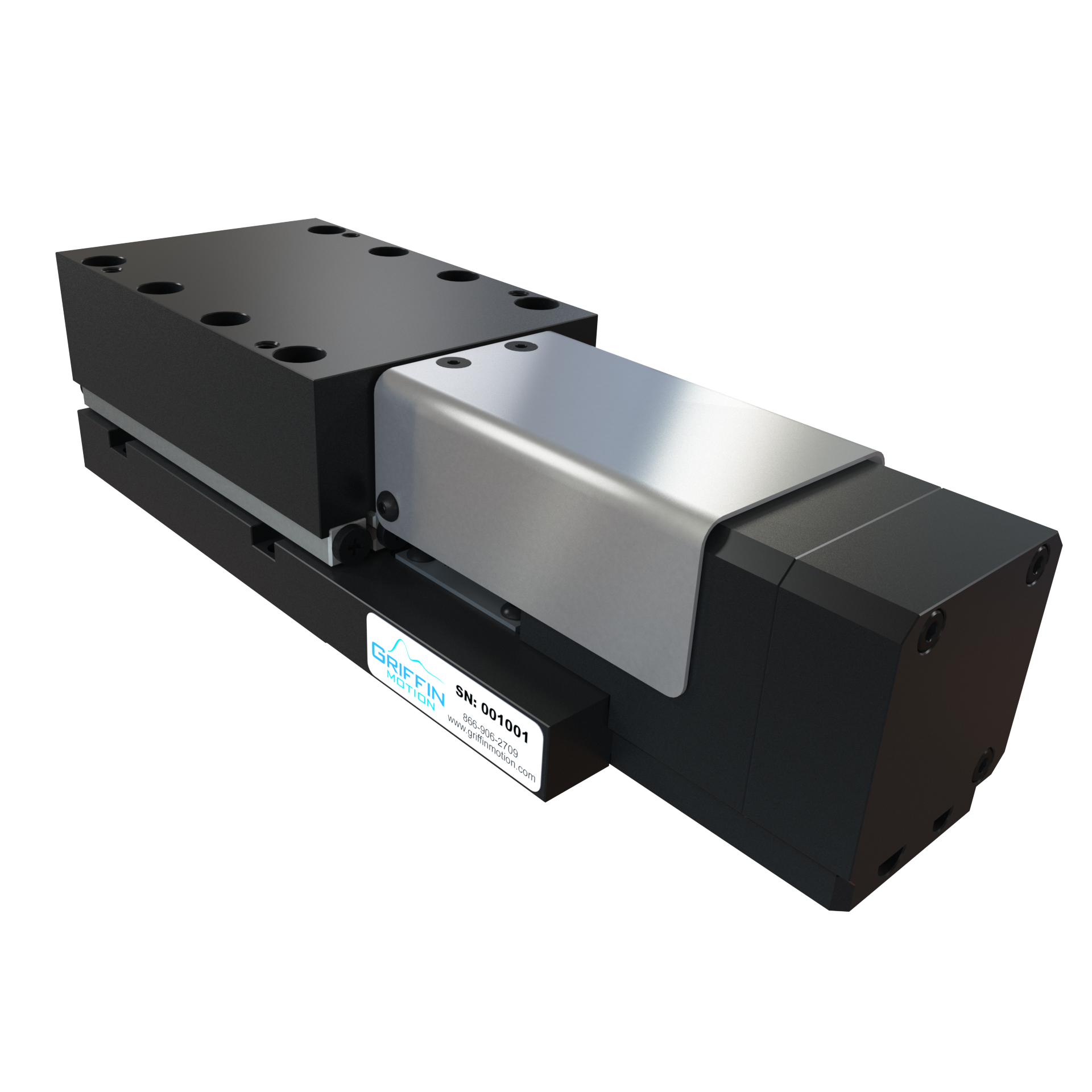 ompact high precision linear stage, crossed roller ways