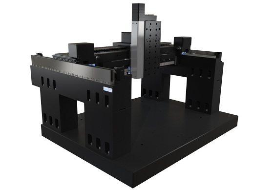 300x300x150mm XZY gantry motion systems built for high duty and long life automation with micron level positioning.